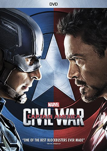 Marvel's Captain America: Civil War (DVD) (Team America Best Scenes)