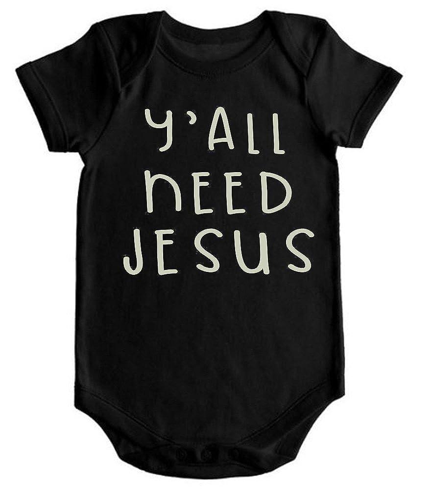 VRW Yall Need Jesus Romper Bodysuit
