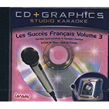 CD(G) KARAOKE LANSAY LES SUCCES FRANCAIS VOL.03