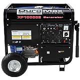 10000 watt portable generator - DuroMax 10000 Watt Portable Gas Electric Start Generator RV Home Standby Camping