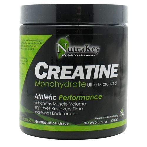 NutraKey Creatine Monohydrate, 300 Gram