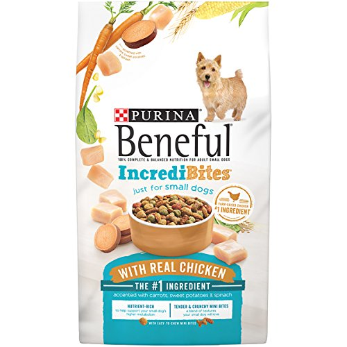 Purina Beneful IncrediBites With Real Chicken Adult Dry Dog Food - 15.5 lb. Bag