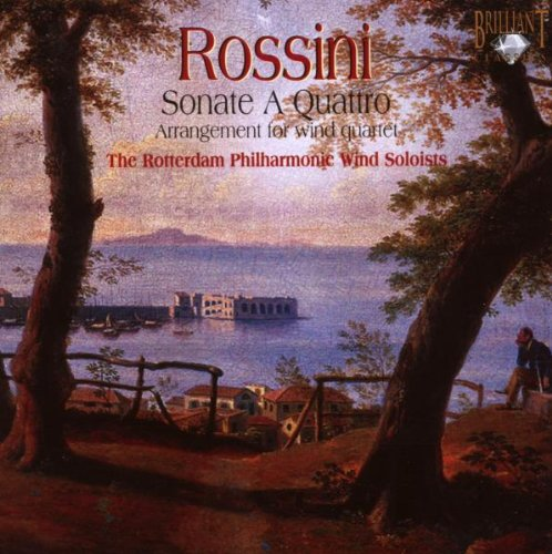 Rossini: 6 String Sonatas (Arranged For Woodwind Quartet)