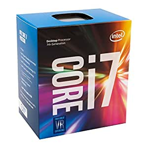 Intel Core i7-7700 Desktop Processor 8M Cache, 3.6GHz (Max Turbo Frequency 4.20GHz) 7th Generation