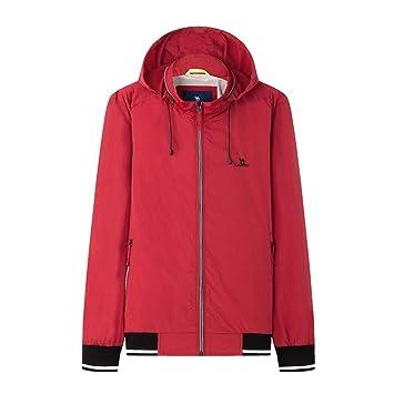 Abrigos Chaqueta roja Chaqueta roja Chaqueta de Hombre ...
