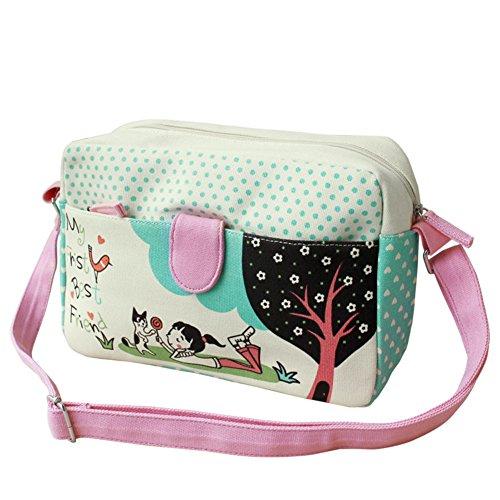 Mme sac en toile épaule du messager/sacs à main à la mode Creative