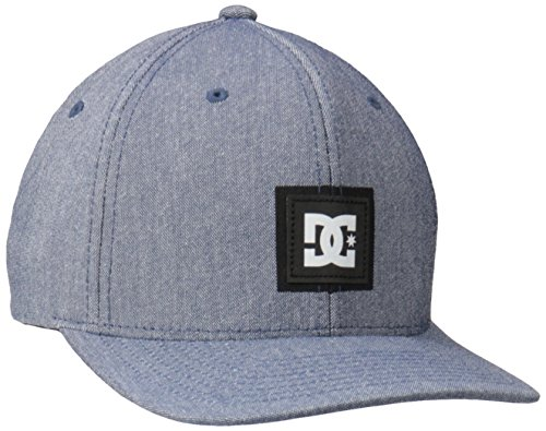 DC Men's Star Cap Hat, Heather Blue Iris, Large/X-Large from DC