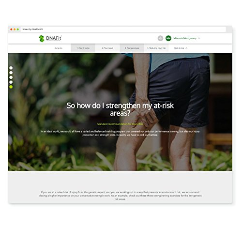 DNAFit Personalized Plans by