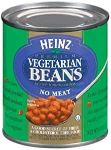 Heinz Vegetarian Beans in Rich Tomato Sauce, 8 oz