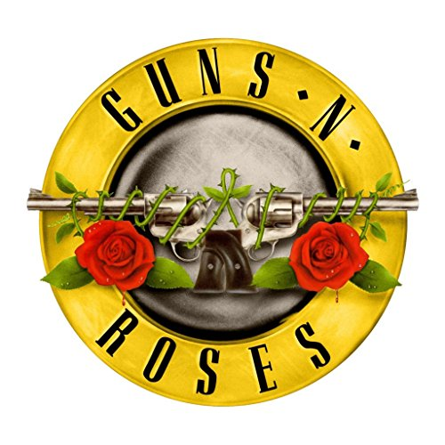 Guns N Roses OriginalStickers0357 Set Of Two (2x) Stickers , Laptop , Ipad , Car , Truck , Size 4 inches on Longer Side ()
