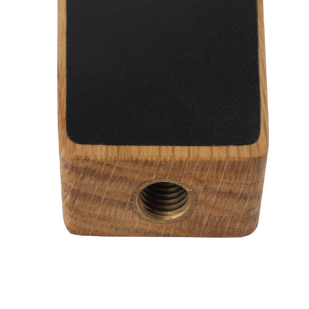 Small Chalkboard Beer Tap Handle, Mini kegerator Tap Handles, 6.5 Inch Tall Oak Wood by Fanfoobi (Image #4)