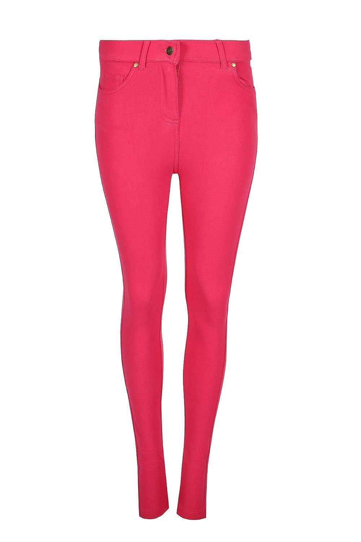 7f4f968e324bc SKINNY WOMEN LADIES JEGGINGS FOR WOMEN JEANS DENIM LOOK LEGGINGS:  Amazon.co.uk: Clothing