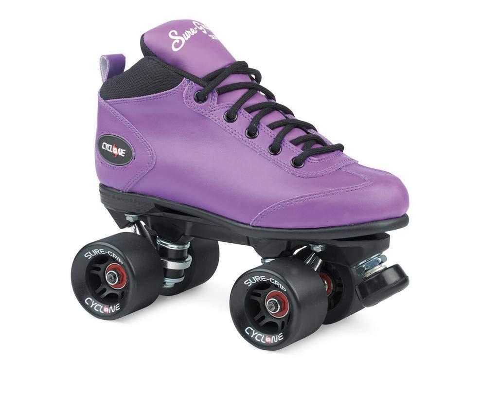 Sure-Grip サイクロン Ladies ローラースケート パープル Sure-Grip B019ZSVEO8 Mens/ 7/ Ladies 8, MAKU:36655b9a --- sharoshka.org