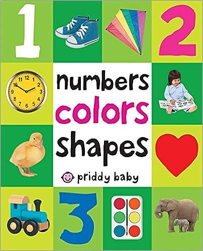 Numbers Colors Shapes por Roger Priddy epub