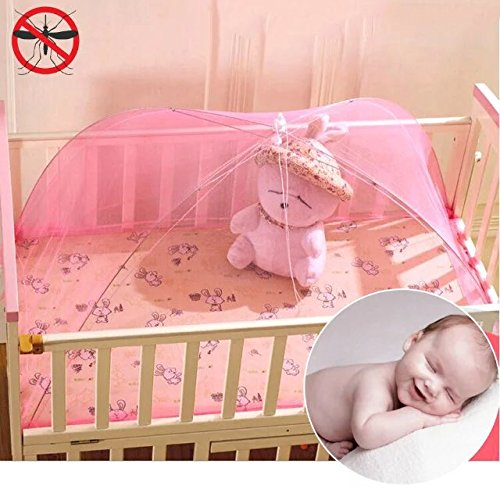 Baby Canopy Pop Up Mosquito Netting for Camping Traveling; Insect Mesh Cover For Infant Nap Perfect for Indoor and Outdoor Keep Insect and Flies (Where Can I Buy Cat Eye Contacts)