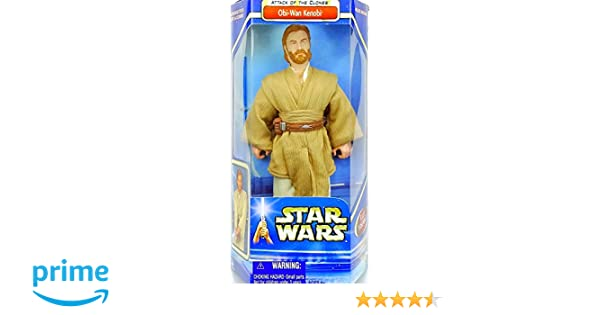 897dbdf9089f4 Amazon.com: Star Wars AOTC Obi Wan Kenobi 12in Collectors Figure ...