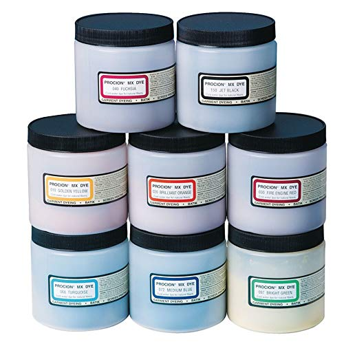 Jacquard Procion Mx Dye Medium Blue 8Oz (Jacquard Procion Dye)