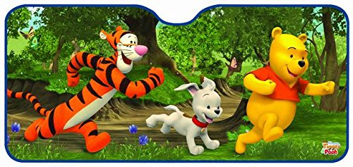 Winnie the Pooh and Tigger car Sunshade front window (130 x 60 cm) Eurasia 26019