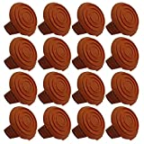 (16 Pack) Trimmer Edger Spool Cap Covers For Cordless Grass Trimmers-14pk