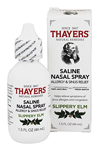 Thayers Allergy & Sinus Relief Nasal Spray, 1.5 Fluid Ounce