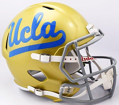 Riddell NCAA UCLA Bruins Helmet Full Size ReplicaHelmet Replica Full Size Speed Style, Team Colors, One ()