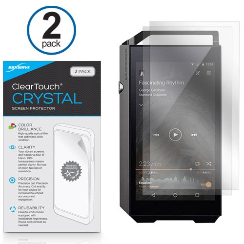 Pioneer XDP-100R Screen Protector, BoxWave [ClearTouch Crystal (2-Pack)] HD Film Skin - Shields From Scratches for Pioneer XDP-100R