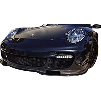 Zunsport Compatible Porsche Carrera 997 Turbo - Front Grille Set - Black Finish (2006 to 2012)
