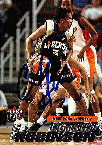 Crystal Robinson autographed Basketball Card (New York Liberty) 2001 Fleer Ultra #60 ()