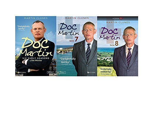 Doc Martin: Complete Series Seasons 1-8+The Movies DVD