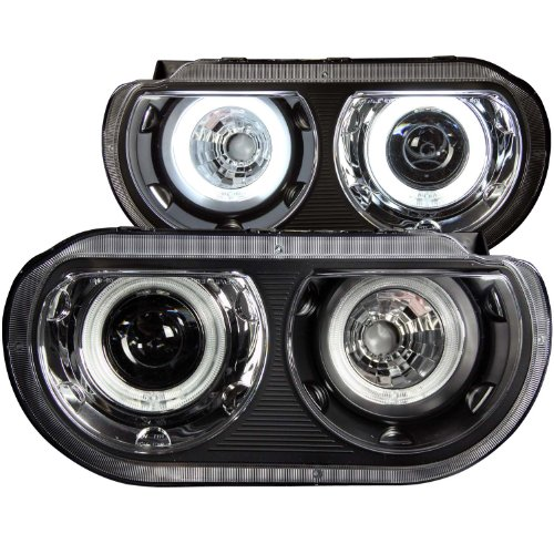 anzousa-121308-black-clear-dual-projector-halo-headlight-for-dodge-challenger-sold-in-pairs