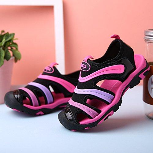 Gloria JR - Sandalias deportivas de Material Sintético para niño Rosa