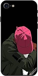 حافظة آيفون 7 قبعة حمراء حزينة