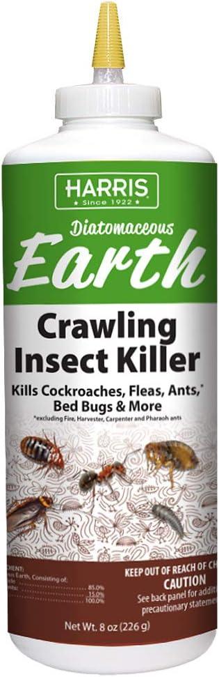 Harris Diatomaceous Earth Crawling Insect Killer, 8oz