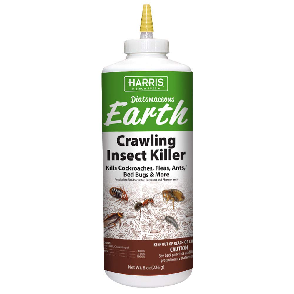 Harris Diatomaceous Earth Crawling Insect Killer, 8oz