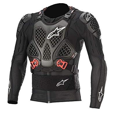 Alpinestars Bionic Tech V2 Protection Jacket, Black/Red, Large: Automotive