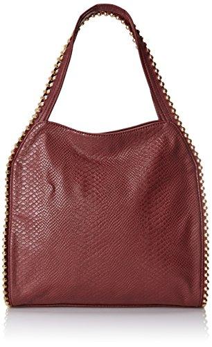 BIG BUDDHA Grayson Shoulder Bag,Wine Snake,One