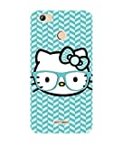 Micromax Unite 4 Pro Q465 Back cover / Colorful Designer Case for Micromax Unite 4 Pro Q465 / TPU soft silicon UV Printed cover for Micromax Unite 4 Pro Q465 / Durable / Flexible / Hello Kitty Cute girl girly printed cover
