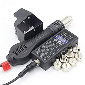 RIESBA 8858 Estación de soldadura portátil BGA del aire caliente del soplador pistola de aire caliente boquilla de aire (01A): Amazon.es: Bricolaje y ...