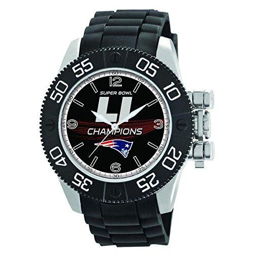 New England Patriots Watch Super Bowl Li Mens Throw Back Wristwatch