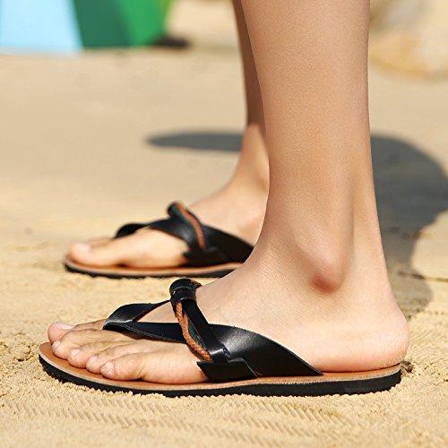 @Sandals Pantoffeln, Männer - Schuhe, Sommer Koreanischen Version, Verschleißfest Verschleißfest Verschleißfest Beach, Flip - Flops, Freizeitaktivitäten Im Freien Clip Trailer, Anti - Slip. ab9c37