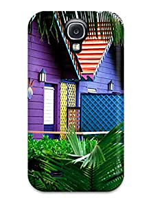 Rashida Design High Quality House Cover Case With Excellent Style For Galaxy S4