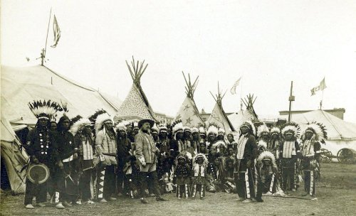 11 x 17 Old Vintage Photo 11 X 17 Buffalo_Bills_Wild_West_Show,_1890