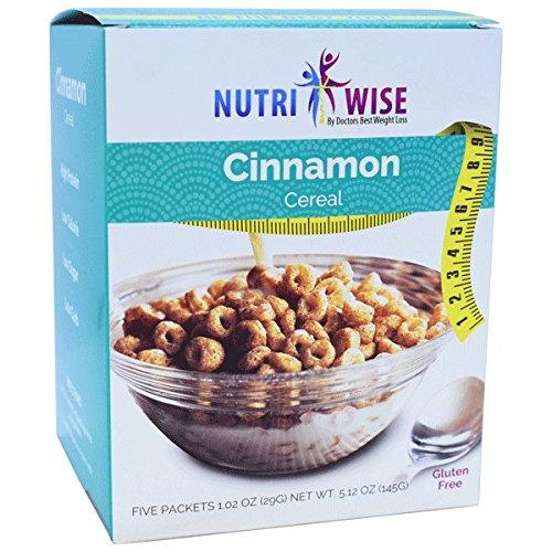 NutriWise - Cinnamon Protein Diet Cereal (5/Box)