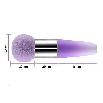 Contever® 1x Lollipop Puderquaste Stift Make up Pinsel flüssige ...