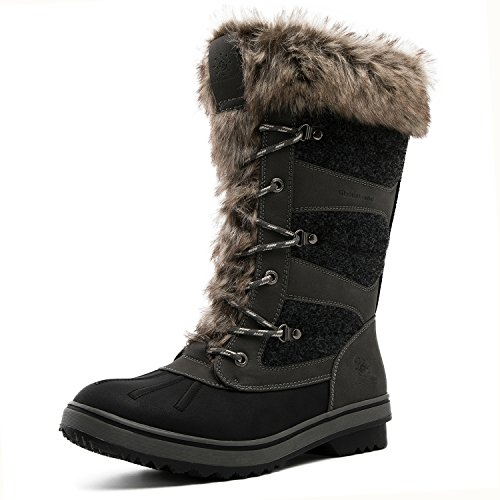 GLOBALWIN Women's Winter 1730grey Snow 1730 Global Win Boots R1pcRHSW