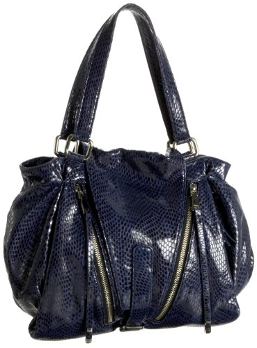 Treesje Roadster Tote, Navy Serpent, One Size, Bags Central