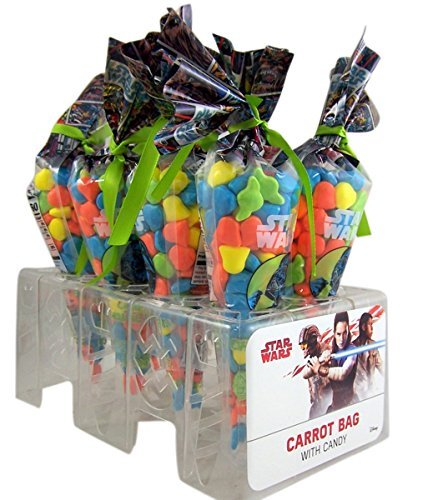 Star Wars Carrot Hard Candy Bags, Pack of 8