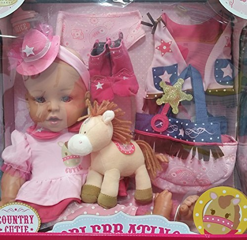 Celebrating Life 18 Inch Vinyl Baby Doll by Celebring Life