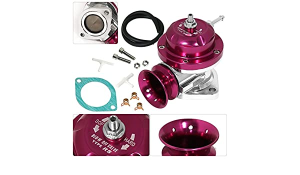 Amazon.com: Universal Turbo Charger Type Rs Style Blow Off Valve Psi Boost Adjustable Purple: Automotive