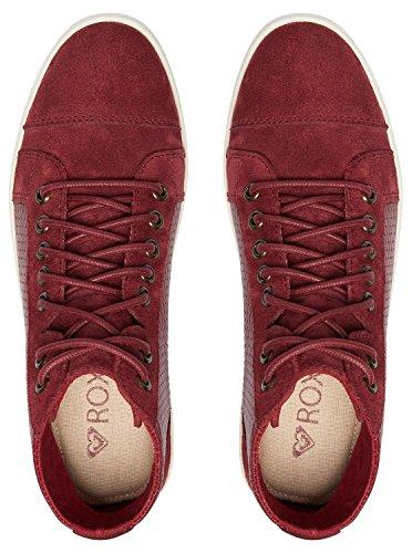 Zapatos con ARJS100018 Burgundy Mujer Piel Cordones de Roxy Melbourne para Zappf